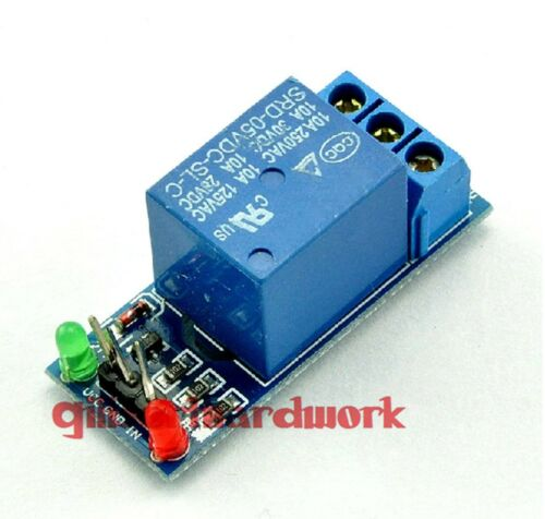 5V 1-Channel Relay Module With Optocoupler Low Level Triger Components