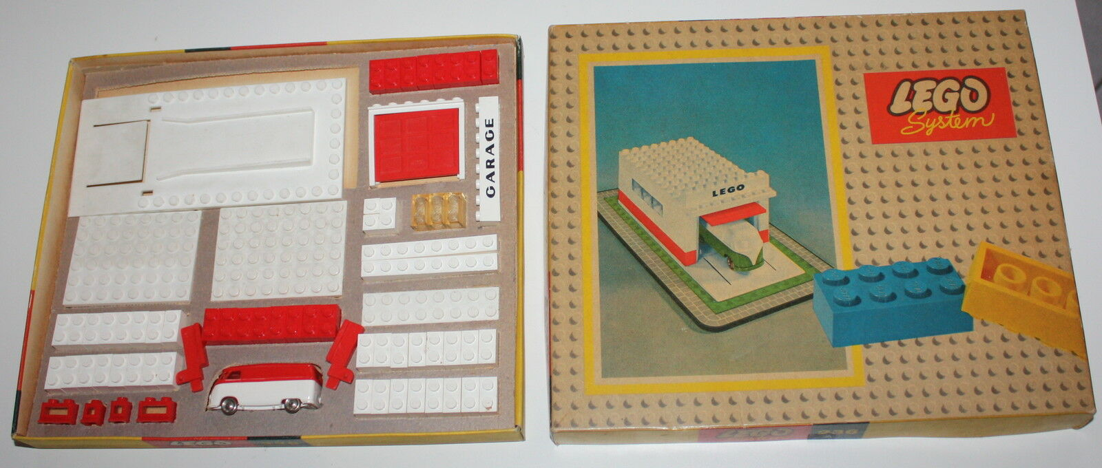 LEGO VINTAGE SET 236 Garage   automatic automatic automatic door 1958 RARISSIMA VARIANTE DI BOX da1a6f