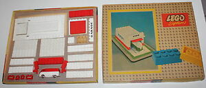 Lego Vintage Set 236 Garage With Automatic Door 1958 Rarissima