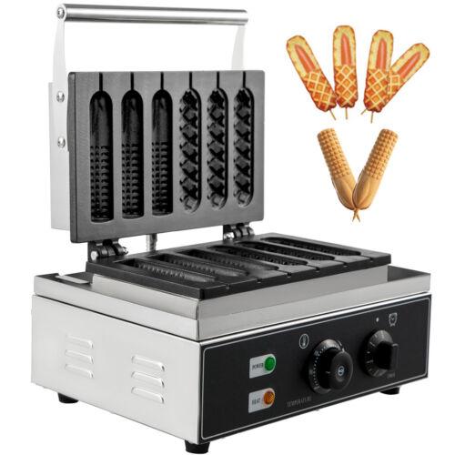 1550W Gaufrier Electrique Machine à Gaufres Commercial Support solide Cuisine