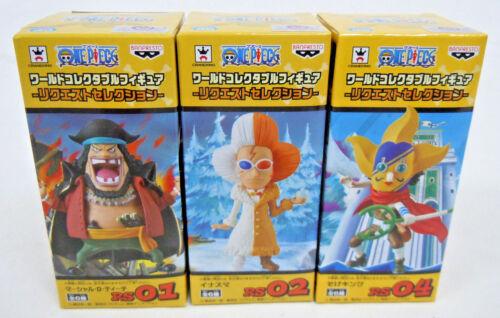 One Piece Request Selection Set 3 Figures Marshall D Teach Inazuma Sogeking