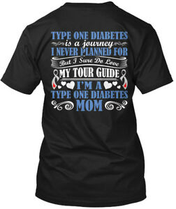 Easy-care-Type-1-Diabetes-Awareness-One-Is-A-Journey-Hanes-Tagless-Tee-T-Shirt