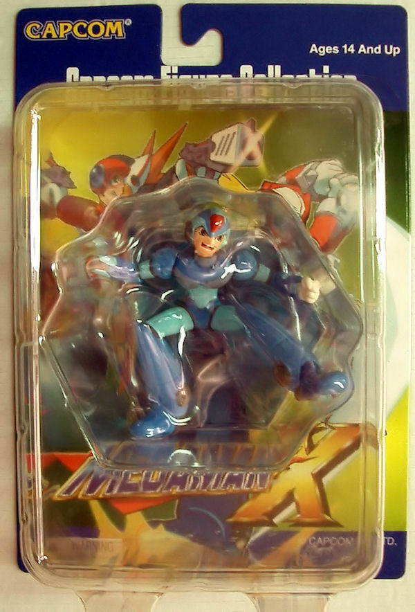 CAPCOM FIGURE FIGURE FIGURE COLLECTION MEGAMAN X X MINI ACTION-FIGUR NEW MEGA MAN 759537