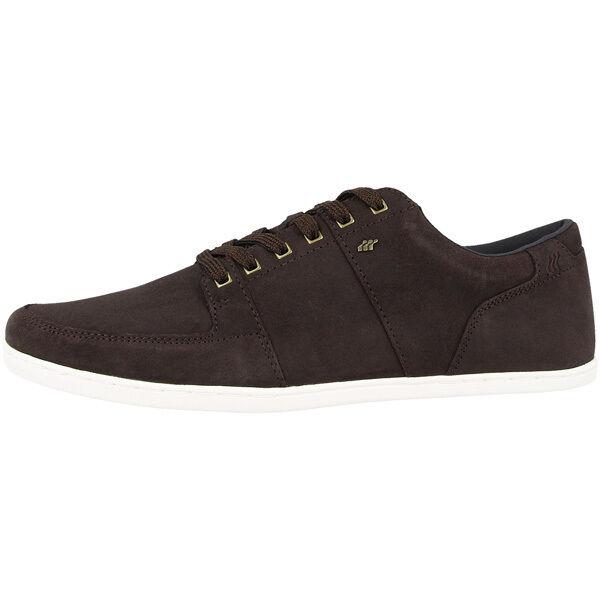 Boxfresh Spencer SH Men Waxed Suede Schuhe Men SH Sneaker Herren Dark Braun E14791 SDE c71b91