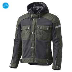 HELD-Sommer-Motorradjacke-Bodie-oliv-gruen-Urban-Style-Gr-XL-Wax-Cotton-Jacke-NEU
