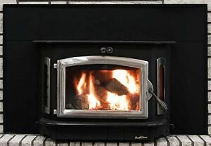 Image is loading Buck-Stove-Model-91-Catalytic-Fireplace-Wood-Stove