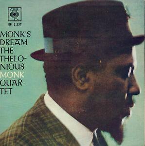 THELONIOUS-MONK-QUARTET-Monk-039-s-Dream-1963-JAZZ-VINYL-EP-7-034-HOLLAND