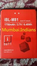 ORIGINAL iBL-M81 BATTERY FOR iBall Andi 5T COBALT2 Mobile With 1750mAh