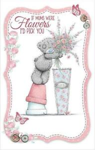 ME-TO-YOU-IF-MUMS-WERE-FLOWERS-I-039-D-PICK-YOU-MOTHER-039-S-DAY-CARD-TATTY-TEDDY-BEAR
