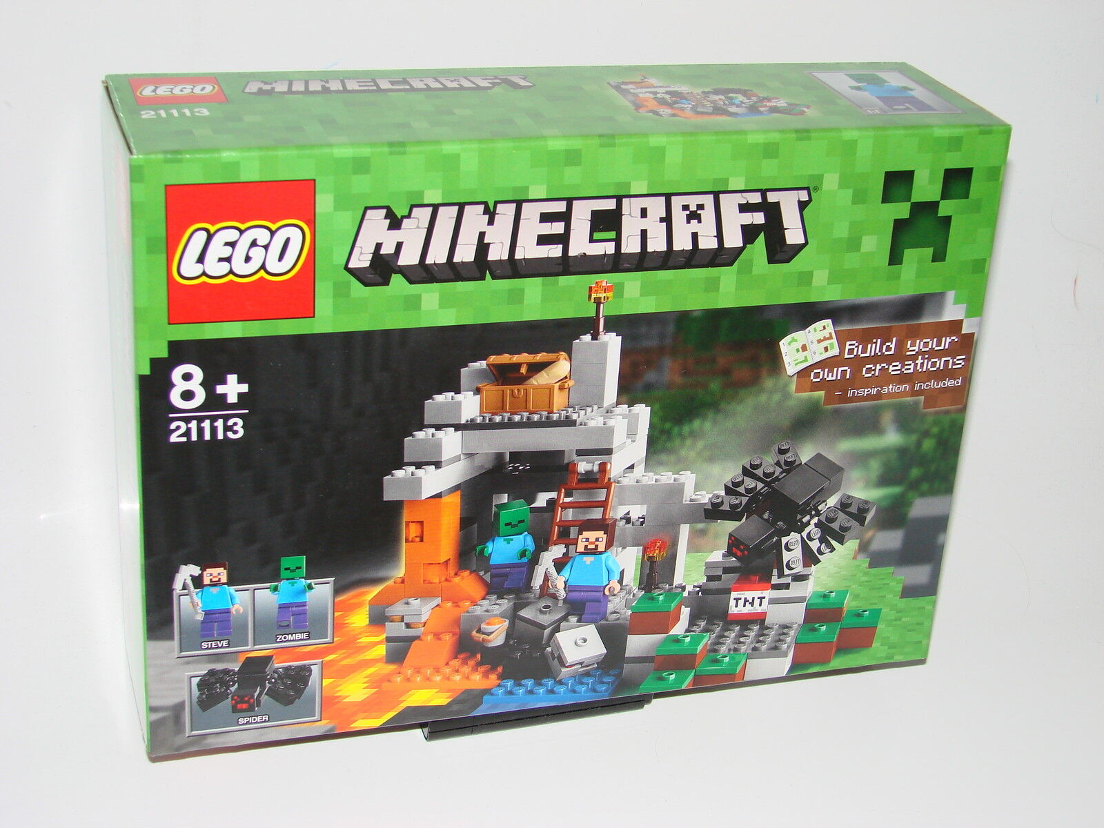 LEGO® 21113 Minecraft™® Die Höhle Neu OVP_The Cave New MISB NRFB