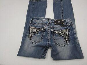 Jeans W25 L29 X Cut Super Medium Nice Miss Wash Boot krystaller Størrelse Me Fjær gfWzP4fqa