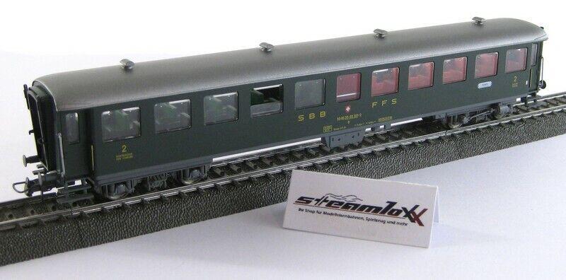 Fleischmann 5139 K H0  Personenwagen 03 301-2 2. Klasse der SBB CFF X00001-22913