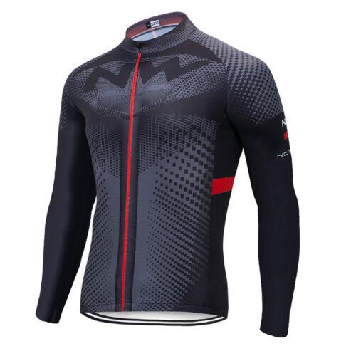 Cycling Jersey Jacket MTB Bike Motocross Tight Long Bicycle NW Shirt Top Clothes