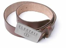Electric Classic Leather Belt (Brown)