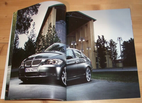 PROSPEKT BMW 320i 325i 330i 320d 2005