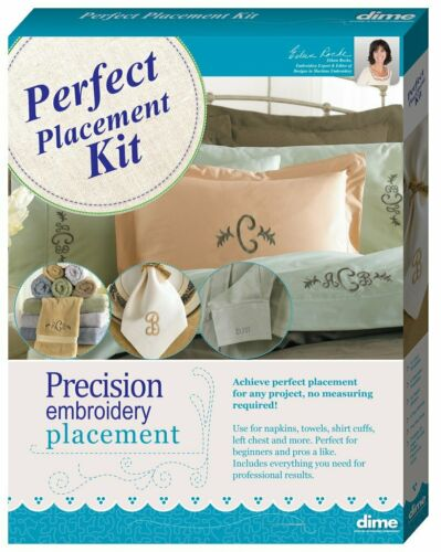 DIME Designs in Machine Embroidery Perfect Placement Kit NIB
