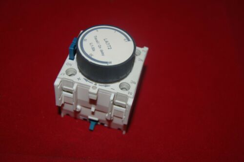 1PC LADT2 ON Delay timer 0.1-30S use for LC1D new type AC Contactor