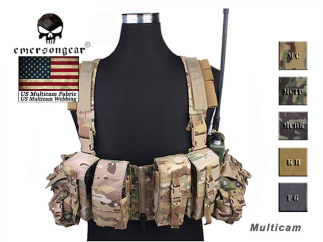 Emerson LBT 1961A-R Chest Rig Airsoft Hunting Combat Tactical Molle Vest