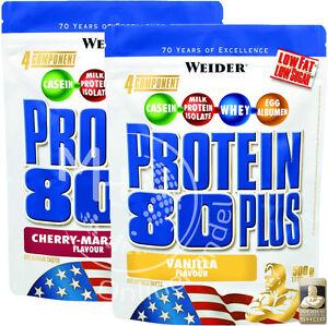 Weider-protein-80-Plus-30-75-kg-2x-500g-proteinas-caseina-whey-BCAA-todas-las-variedades