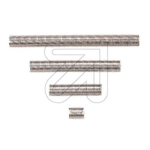 Gewinde-Röhrchen Gewinderohr Gewinderöhrchen Außengewinde M10x1 verzinkt L:80mm