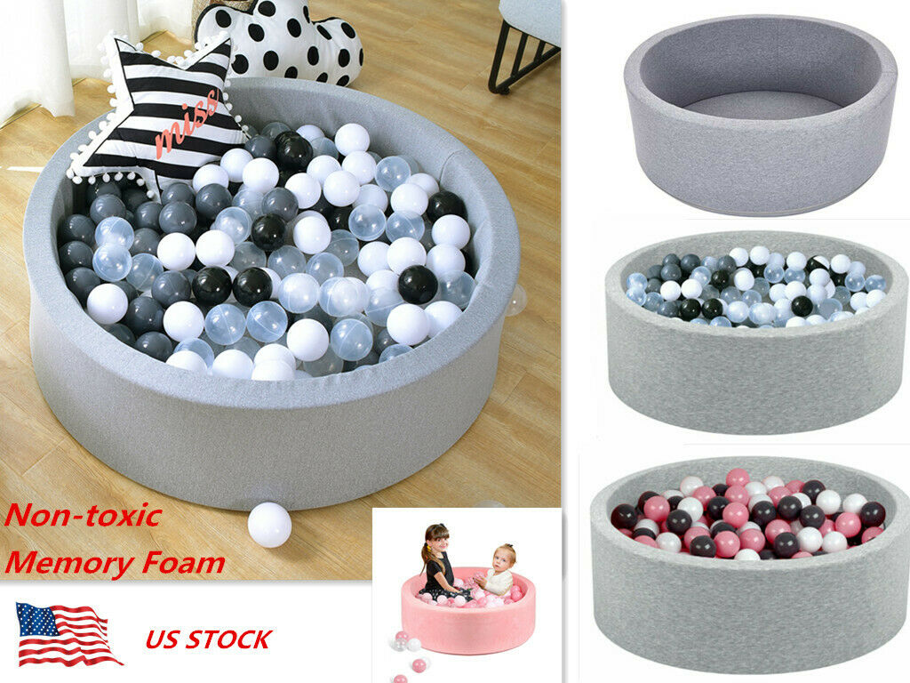 Kids Round Ocean Balls Pool Pit Baby Play Center Playpen Indoor Game Toy Safety