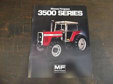 Massey Ferguson 3500 Series Tractor Brochure Mf 3545 Mf 3525 Mf 3505