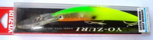 Yo Zuri CRYSTAL MINNOW DD 130mm.24gr ALL Colors,Japan Fishing Lure,Trolling Bait