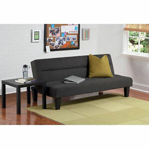 Image Is Loading Microfiber Futon Sofa Couch Living Room Furniture Loveseat