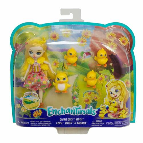 Enchantimals DINAH DUCK Doll with Pets BRAND NEW 2020