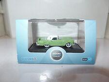 Oxford USA 87TH56003 TH56003 1/87 HO Ford Thunderbird 1956 Sage Green White SALE