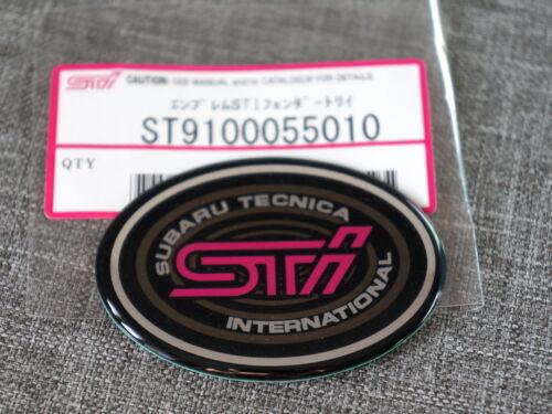 Emblem JDM Subaru Impreza STi GC8 Classic Front Wing Fender Badge Sticker
