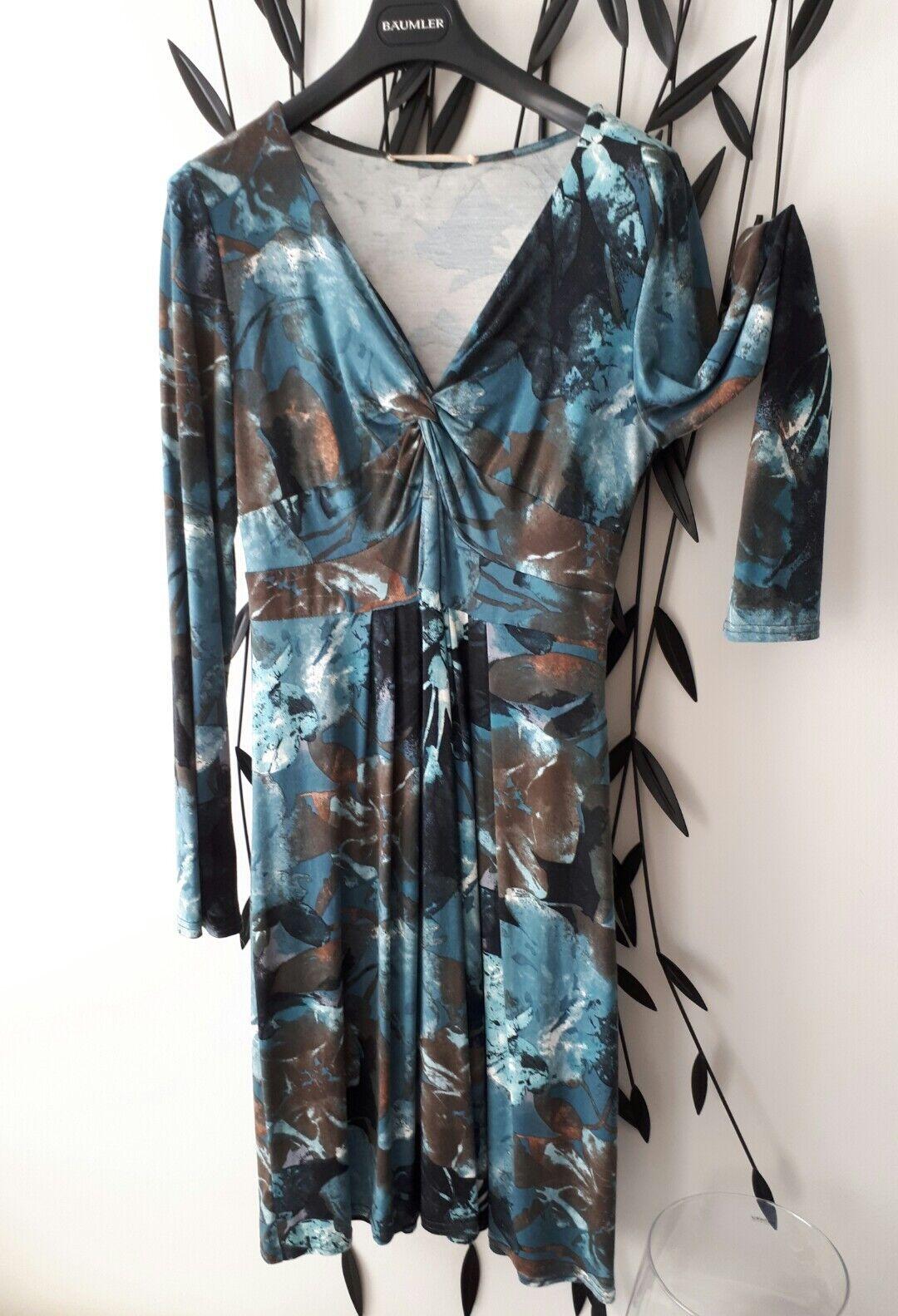Designer Kleid v. französ. Markenlabel KD12 in Gr.T44 (L). NEU   NP war