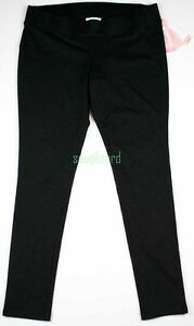 New-Maternity-Clothes-Leggings-Black-Under-Belly-Ponte-Pants-NWT-sz-Size-S-M
