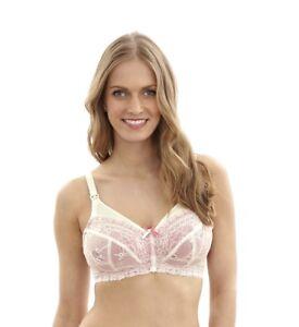 627b833c4fd7d Panache Women s Sophie 5821 Ivory Pink Nursing Bra NWT Large Sizes ...