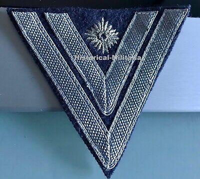 """WH Luftwaffe Rangabzeichen /""""Obergefreiter/"""" blaugrau Winkel"""