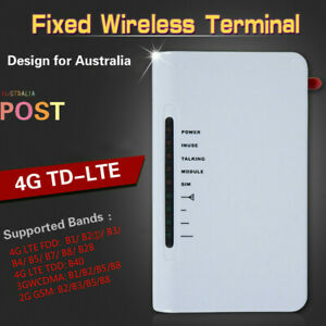 Details about AU 4G LTE 3G GSM Fixed Wireless Terminals LED Alarm Systems &  Phone Line Dialler