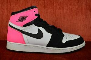 timeless design b0f73 19728 Image is loading CLEAN-Nike-Air-Jordan-1-Retro-High-OG-