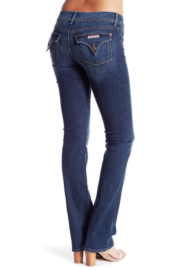 NWT HUDSON Womens Beth Baby Boot Mid-Rise Bootcut Stretch Jeans Size 28 Wooster