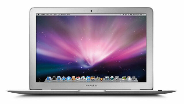 Apple MacBook Air 13.3 Inch Intel Core i5 1.7GHz 4GB RAM 128GB SSD - MC965LL/A