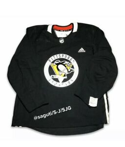 adidas NHL Pittsburgh Penguins Authentic Pro Practice Jersey ...