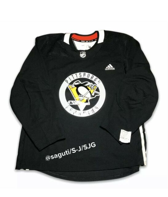 adidas NHL Pittsburgh Penguins Authentic Pro Practice Jersey Made ...