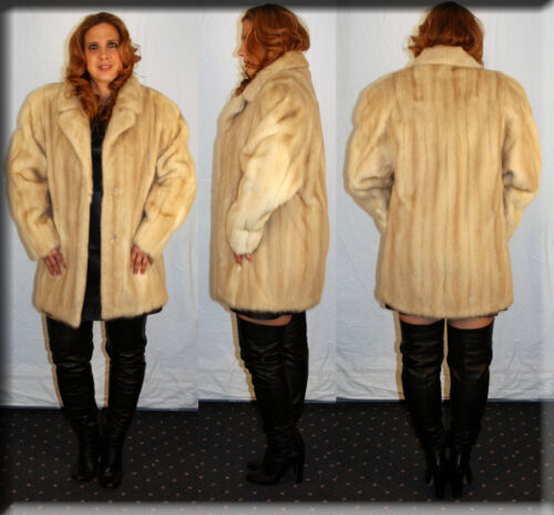 Large Efurs4less 10 Mink Fur 12 Size Tourmaline Stroller New L qRwf6X4