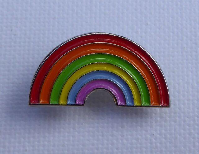 Metal Enamel Pin Badge Brooch Rainbow Logo Lgbt Symbol Gay Pride Ebay