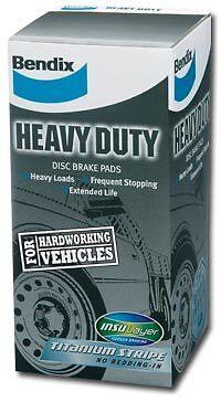 DB1376HD 1 set x Bendix Heavy Duty Brake Pad FOR FORD FALCON AU