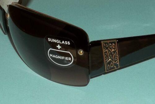 2.50 #52 Foster Grant Temptation Gold Metal Bifocal SunReaders Sunglasses