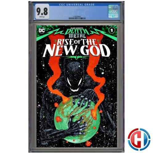DARK NIGHTS DEATH METAL RISE OF NEW GOD #1 CGC 9.8 Graded PRESALE 10//28//20
