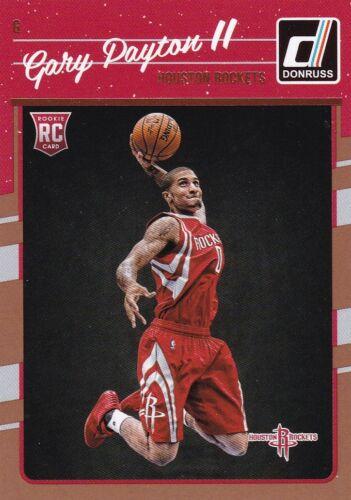 rookie 2016-17 Panini Donruss baloncesto walker #198 gary payton II