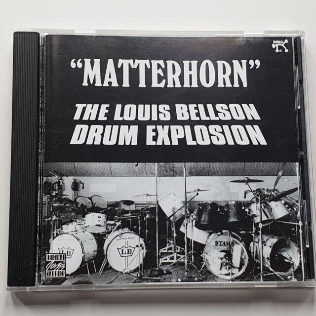 """The Louis Bellson Drum Explosion – """"Matterhorn"""" (CD) – Mint Condition*"""