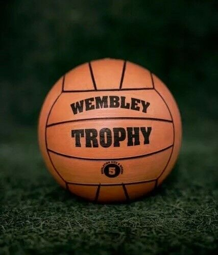WEMBLEY TROPHY RETRO calcio//pallone da calcio