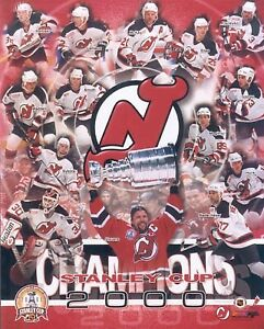Team Composite New Jersey Devils 8 X 10 Photo AABK032 zzz